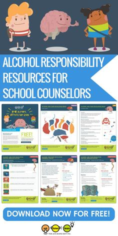 Calling all counselors, middle school teachers and educational professionals. Help your students say yes to a healthy lifestyle and no to underage drinking. This free curriculum includes free… Middle School Counseling, Middle School Teachers, School Counselor, High School Health Lessons, Middle School Health, Health Activities, Interactive Activities, Alcohol Awareness, Health Lesson Plans