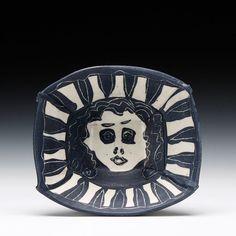 Schaller Gallery : Artist : Lana Wilson : Medium Portrait Bowl