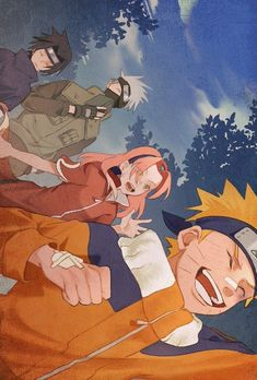 See the best pictures of Team 7 Naruto anime& most famous teams in the anime Naruto Uzumaki Shippuden, Naruto Kakashi, Naruto Team 7, Anime Naruto, Naruto Comic, Naruto Cute, Sasunaru, Otaku Anime, Anime Characters