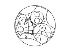 Time can be rewritten in Circular Gallifreyan Dr Who