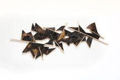 MARTIN VIECENS   Sculptural object    Recycled wood   Assemblies   50x150cm