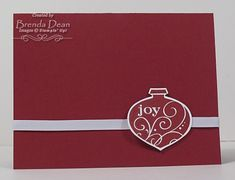 A Quick and Easy Christmas Card by bdindle - Cards and Paper Crafts at Splitcoaststampers