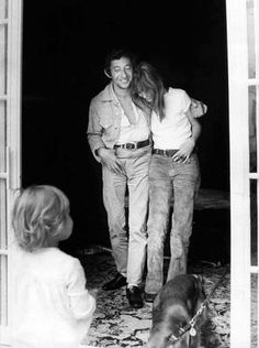 Jane Birkin, Serge Gainsbourg y Kate Barry