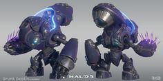 ArtStation - Halo 5 - Grunt Goblin, Kyle Hefley