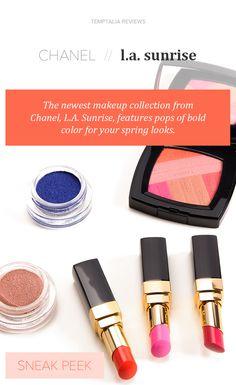 Sneak Peek: Chanel LA Sunrise Collection Photos & Swatches