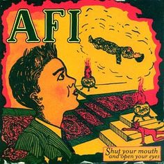 Precision Series A.F.I. - Shut Your Mouth and Open Your Eyes, Green