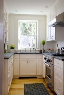 Desain Dapur Minimalis Mungil Kitchen Small Narrow E French