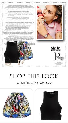 """""""Shein"""" by krecko ❤ liked on Polyvore featuring T By Alexander Wang, River Island and 3.1 Phillip Lim"""