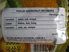 Pickled radish, Korean style | Flickr - Photo Sharing!