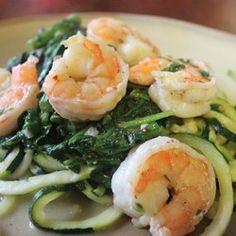 Shrimp Florentine with Zoodles - Allrecipes.com