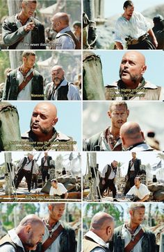 Billy: He never listens to me. Gates: Nonsense. You're a highly regarded member of this crew. And I can assure you the captain regards your input more than you know. Billy's going with you. Flint: Who's Billy? (Black Sails)