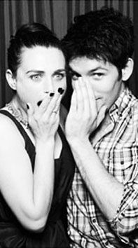 Colin Morgan and Katie McGrath