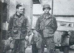 Major Richard Winters and Captain Lewis Nixon
