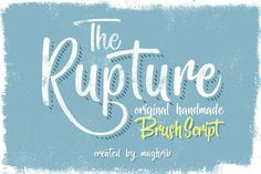 The Rupture 3 Styles by maghrib on @creativemarket