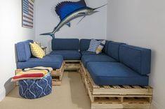 DIY pallen tre sofa å lage selv