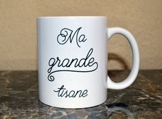 Tasse/Mug Ma grande tisane du soir Personnalisable