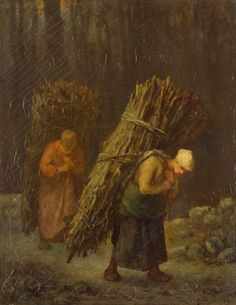 Millet_-_Peasant-Girls_with_Brushwood