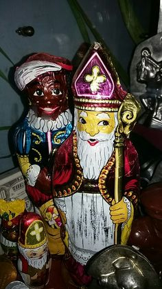'Oude' chocoladefiguren, bakkerijmuseum Medemblik