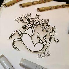Тату эскиз Олень Укока. Эскиз нарисован по мативам татуировки, найденной мумии Алтайской принцессы Укока. Эскиз нарисован маркерами Copic и лайнерами Micron. Тату мастер Вадим. Студия художественной татуировки и пирсинга Evolution. www.evotattoo.ru. Тел./WhatsApp: 89255143553. #tattoo #tattoos #ukok #deer #tattoo_design #illustration #draw #abstract #тату #татуировка #татуировки #эскиз_оленя #тату_олень #рисунки_оленя #укок #олень_укоке #олень_мумии @evolution_tattoo_studio