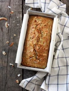 Toasted Coconut and Zucchini Bread | completelydelicious.com by Completely Delicious, via Flickr