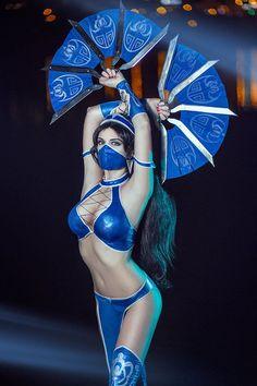 Kitana Mortal Kombat IX Game Sexy Cosplay by AGflower on DeviantArt