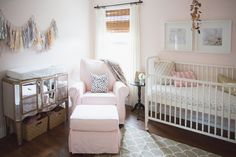 Inspired by this Girly Sea-Inspired Nursery by Vitalic Photo via inspiredbythis.com