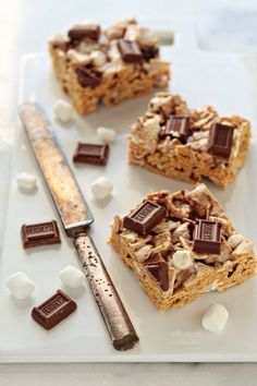 S'mores Krispies with Golden Graham's cereal