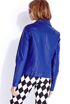 Chic Girl Moto Jacket | FOREVER21 - 2000111758