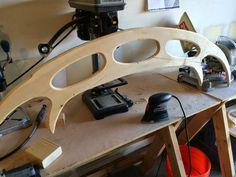 create a wooden Bat'leth
