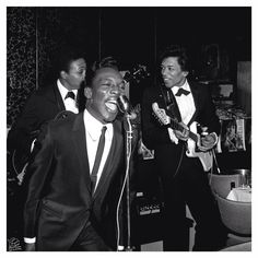 Wilson Pickett with Jimi Hendrix on guitar.