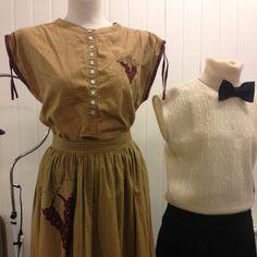 Tjusigt matchande vintageset med Top | Vintage & Second hand  http://www.getosom.com/a/502057-5282264313233408  #vintage #secondhand #fashion #osom #iwantthis