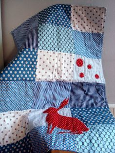 would love if that was like a squirrel or deer or bear shape on it! so cute-great idea and the squares