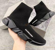 Giày Sneaker Balenciaga Speed Trainer All Black - Đen Rep Balenciaga Speed Trainer, Bordeaux, All Black, Trainers, Sneakers, Tennis, Tennis, Slippers, Bordeaux Wine