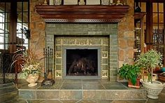 craftsman style book selves | Fireplace Mantel Shelves . . . Standout Styles & Profiles!