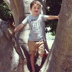 If you see a tree climb it - another of Jude's life rules! #hopeforislaandjude by hopeforislaandjude