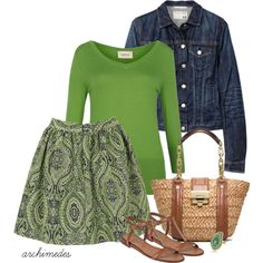 """""""Paisley for Spring"""" by archimedes16 on Polyvore"""