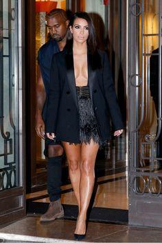 Kim Kardashian's 11 Best Shoe Looks Ever via @WhoWhatWear