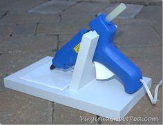 DIY Glue Gun Holder from the back