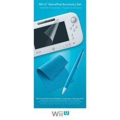 Nintendo Wii U - Gamepad Accessory Set #