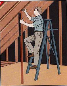 framing for an attic room (measuring)
