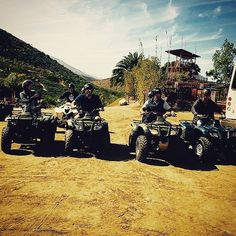Let's get the weekend rollin'! ATV fun at Las Cañadas Campamento in #Ensenada Come and join us today, explore #BajaCalifornia www.DiscoverBajaCalifornia.com (Photo by Eddie Santana)
