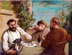 Lunch in the country, Honoré Daumier
