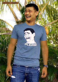 Yao Ming y su Meme.