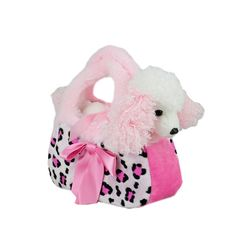 Title: Pug Dog in Pink Camo Bag Fancy Pals Size: Measures 8 inch / 20cm long Price: AUS$ 22.95 Brand : Aurora  Lots more items like this available at: www.stuffedwithplushtoys.com 100 Day Returns |Fast Trackable Shipping|Amazing Service