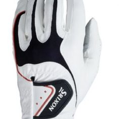 SRIXON MEN'S ALL WEATHER GOLF GLOVE, MEDIUM LARGE. RIGHT HAND GLOVE FOR A LEFT HANDED GOLFER.