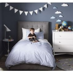 Dwell Studio-love the colour scheme of this little boys room.