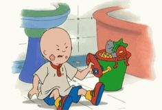 An early opening theme to the show used to feature Caillou throwing a temper tantrum. That happens every episode, and so of course your kids emulate that behavior. | 18 Reasons Why Parents Can't Stand Caillou