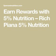 Earn Rewards with Nutrition – Rich Piana Nutrition Nutrition, Words, Horse