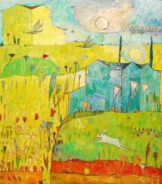 """""""Houses in the Sun"""" by Jane Filer, 2012"""