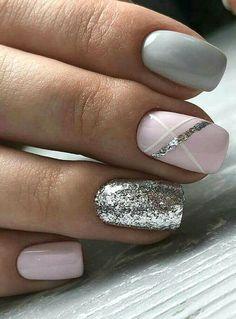 French Nail Designs, Nail Art Designs, French Nails, Winter Nails, Spring Nails, Summer Shellac Nails, Cute Nails, Pretty Nails, Hair And Nails